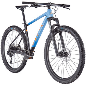 "Marin Nail Trail 6 29"", gloss black/bright blue/cyan/black"